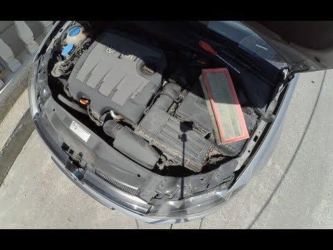 Volkswagen Golf/Jetta Hava filtresi değişimi