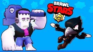 Новый режим БОЙ с БОССОМ, тест  КРОУ и ФРЭНКА! Играю с подписчиками в Бравл Старс | Brawl Stars