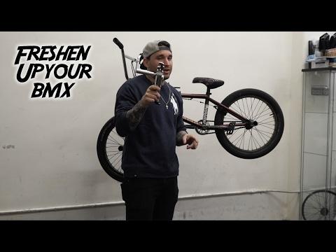 HOW TO MAKE YOUR BMX BIKE FEEL NEW AGAIN!