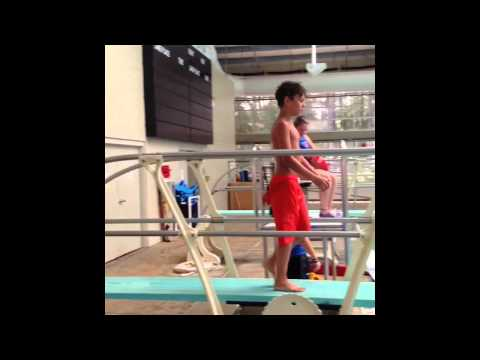 How to do a double front flip off a diving board