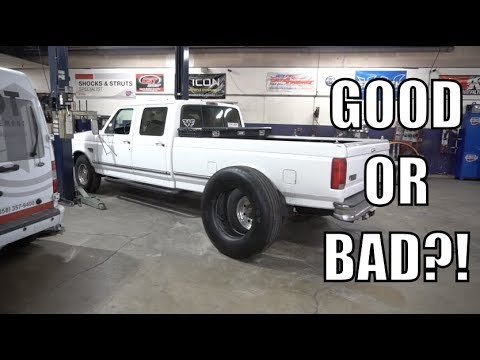 My F350 Is Back In The Shop