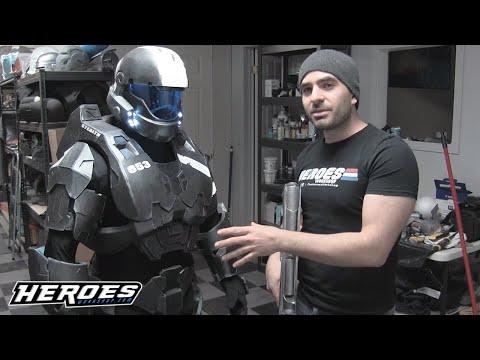 Halo ODST Spartan EVA Foam Armor Cosplay
