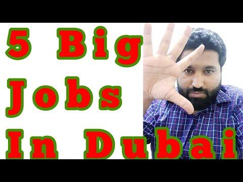 5 Big Jobs in Dubai | My Job in Dubai | Azhar Vlogs | Azhar Consultants LLC Dubai jobs