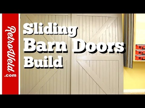🔴 Sliding Barn Doors Build