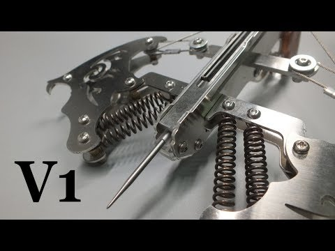Crossbow #2017-V1  Mechanical Springs Drawing Force - A Xbow Revolution