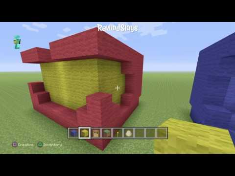 MineCraft Tutorial: How to Build a Halo Helmet
