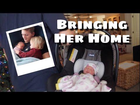 Xxx Mp4 Bringing Our Newborn Home Teen Mom Of 2 Vlogmas 3gp Sex