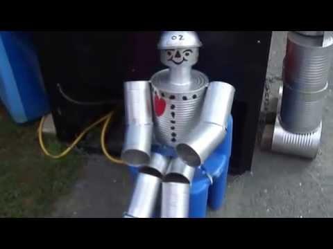 How To Make A Tin Man