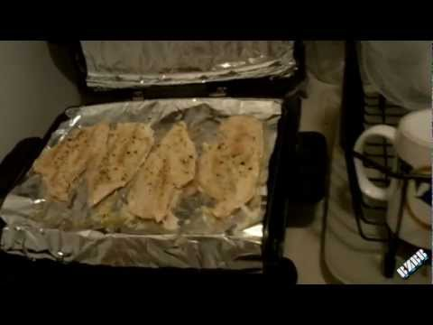 George Foreman Grill Cleaning Tip