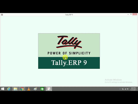 edit or delete company in tally erp 9