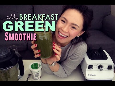 HEALTHY GREEN SMOOTHIE | Curb Cravings + Maintain Weight