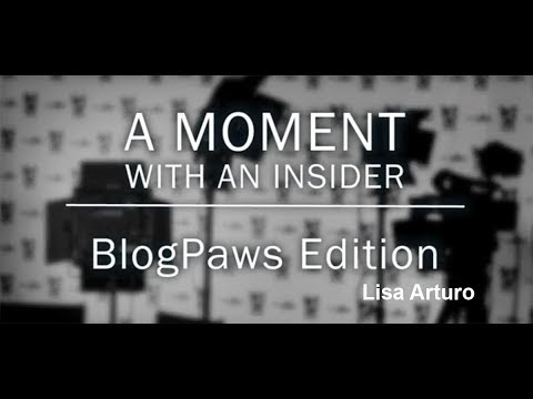 Moment With An Insider - BlogPaws Edition - Lisa Arturo - Hope For Paws