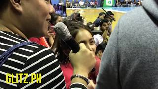 Courtside interview with Kathryn Bernado - Star Magic Game