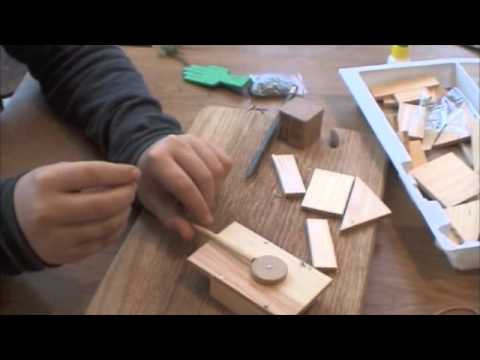 How to build a fun toy tank for kids out of wood - easy and simple