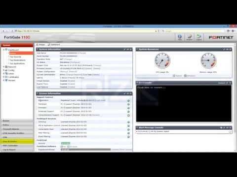 FortiGate (PPTP VPN) (v5.0.2)
