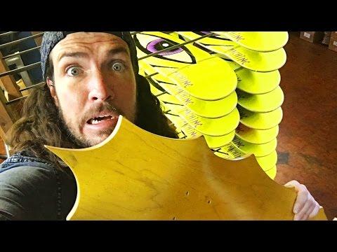 Making Custom Skateboards FOR YOU!!