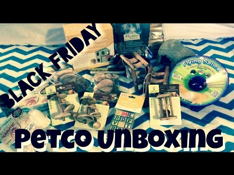 *Black Friday Petco Unboxing*