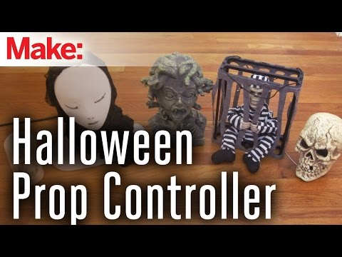 Arduino-Controlled Halloween Props