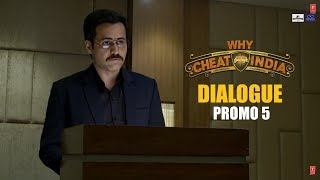 WHY CHEAT INDIA Dialogue Promo 5 :Teen Baar Medical Clear Nhi Kr Paya | Emraan Hashmi, Shreya D