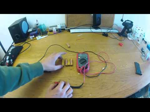 How to check your R/C rechargeable batteries (not lipo batteries)