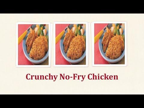 Crunchy No Fry Chicken