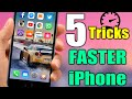 5 Tricks To Make Your iPhone Faster