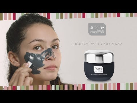 Skin Detox With a Charcoal Mask - Adore Cosmetics   Detoxing Activated Charcoal Mask