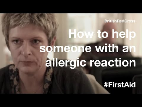 First Aid: Severe allergic reaction