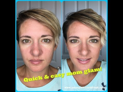 Quick and Easy mom glam tutorial