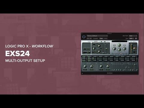 EXS24 Multi-Output - Logic Pro X