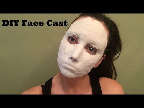 DIY Face Cast for Special FX Makeup