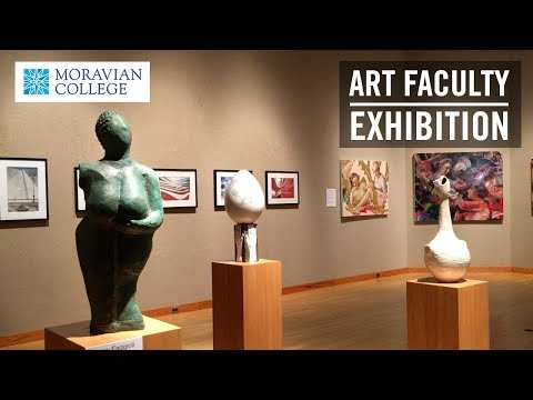 Moravian College Faculty Art Exhibition Spring 2018