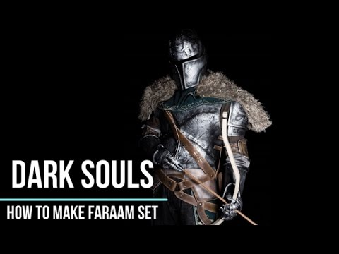 How to make DARK SOULS armor set - Faraam set [Cosplay prop tutorial]