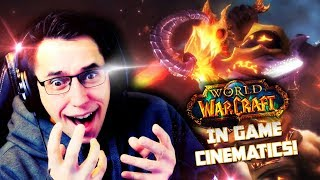 Watching the In-Game Cinematics of World Of Warcraft for the FIRST time!! [PART 1]