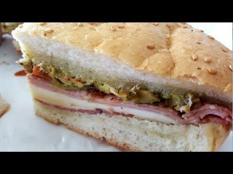Muffuletta Sandwich of New Orleans:  Secret Recipe Revealed!