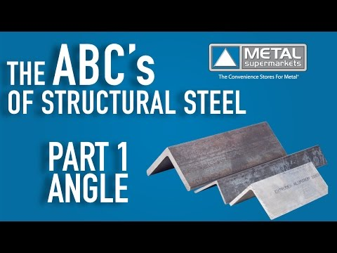 ABCs of Structural Steel  - Part 1: Angle | Metal Supermarkets