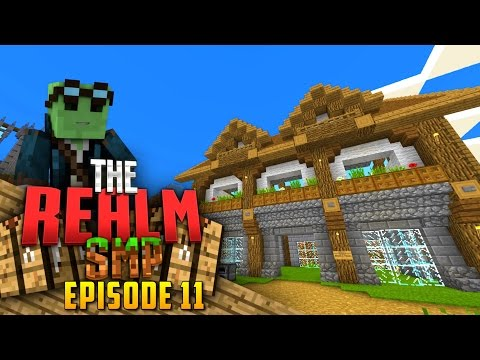 Minecraft PE Realms SMP - Ep.11 : My Second Shop!