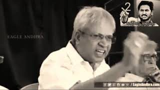 Vundavali Arun Kumar about YSR death