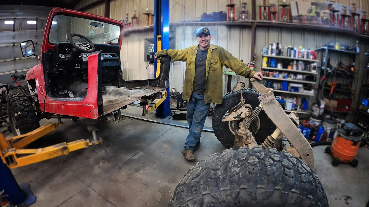 Why Would You CUT A JEEP IN HALF???