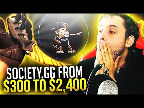 All in with $600 - Winning x6 knifes and a FN Medusa! Society.gg