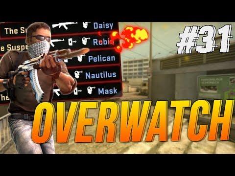 UN CHEATER AVEC DES SKINS ! - CSGO Overwatch #31