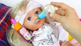 Download Эмили в ПОСТЕЛИ, Пропустила ШКОЛУ #Куклы Пупсики #Бебибон Игрушки Играем в Дочки Матери Video