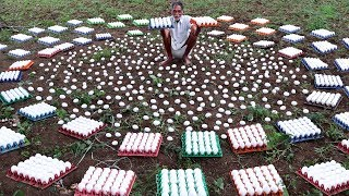 King Of 2000 EGGS   My grandpa Donating 2000 eggs Recipe to Homeless People
