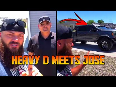 Heavy D Meets Jose For First Time, Gets Him A Rental And Takes His Truck