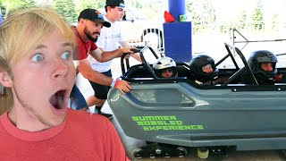 WE TRY WORLD'S MOST DANGEROUS SPORT! w/ Sam, Colby, Corey & Andrea
