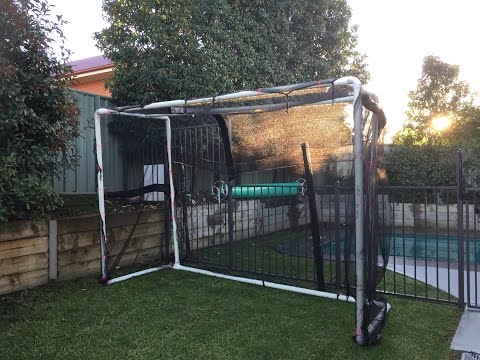 How to build a Soccer Goals for less then $125
