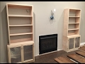 Fireplace Mantel Surround pt. 2 Bookcase