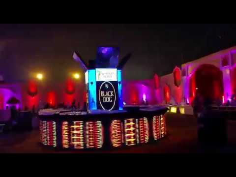 new beautiful concept complete full led bar setup for wedding n corporate 09990908622
