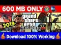 (600 Mb) How to Download Gta San Andreas for Pc,Laptop,Computer |  Gta San Andreas Download