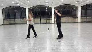 """ריקודי עם אורלי שמש הדגמה: """"ארבע עונות""""  יוצר: גדי ביטון"""